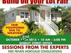 BUILD ON YOUR LOT FAIR - Postponed